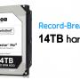 Western Digitalden 14 TB'lık Harddisk