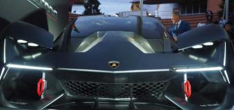 Lamborghini'nin Özel Elektrikli Aracı