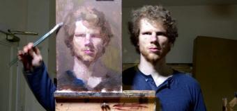 Aynaya Bakarak Kendi Portresini Yaptı