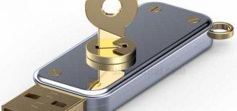 usb şifre