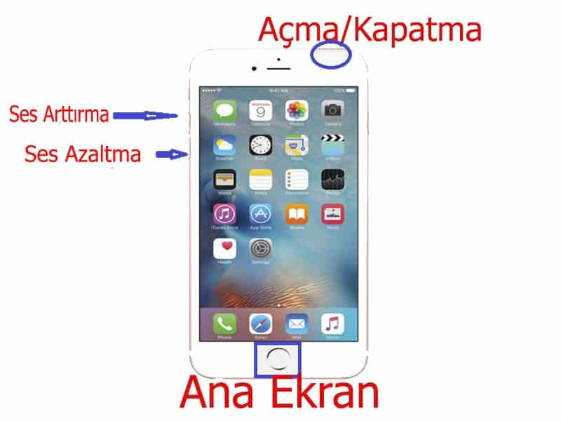 İphone tuş