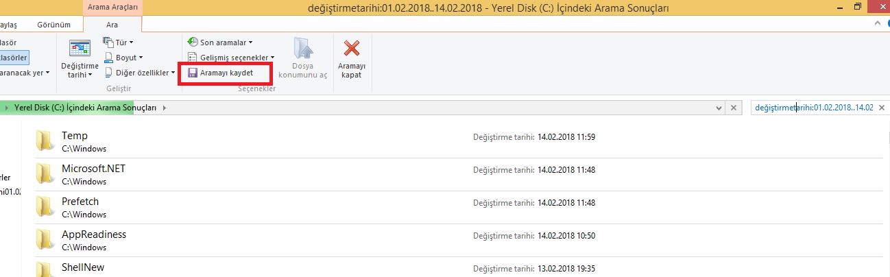 Windows gezgini6