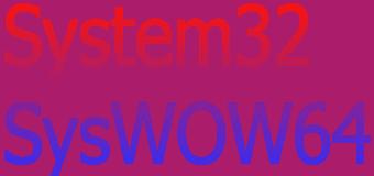 Windows'da System32 ve SysWOW64 Klasörleri Arasındaki Fark Nedir?