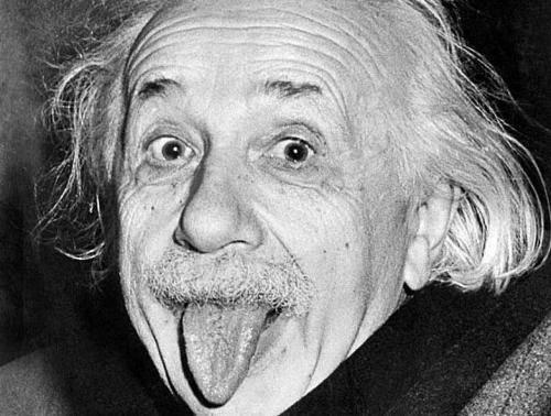 Einstein neden dil çıkardı