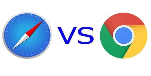 Safari ve Chrome