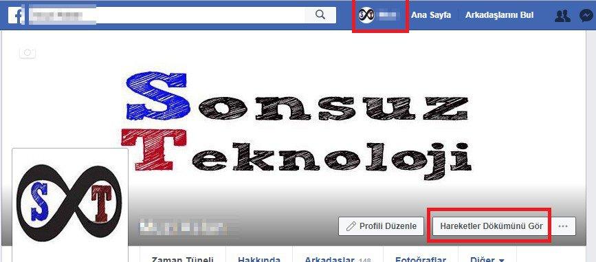 facebook hareketler dökümü