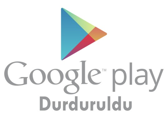 google play store durduruldu hatası