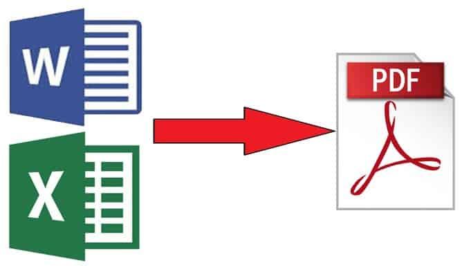 word excel pdf dönüştür şifre
