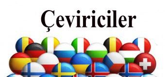 Ücretsiz Online Yabancı Dil Çeviriciler