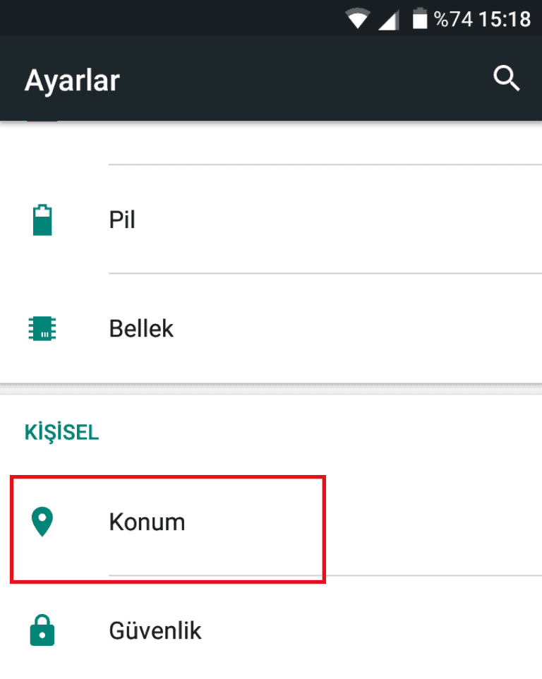 Konumunuzu bulma ve doğruluğunu iyileştirme - Android - Google Haritalar Yardım