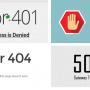 Web Sayfasında Error 401, 403, 404 ve 504 Hataları Nedir?