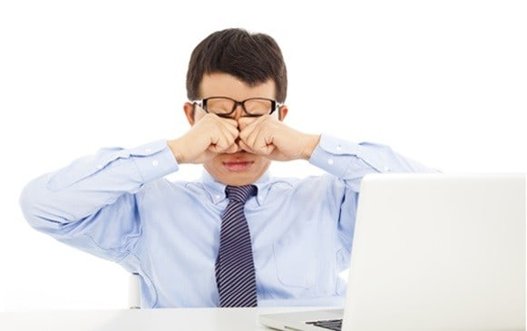 bilgisayar göz yorgunluğu