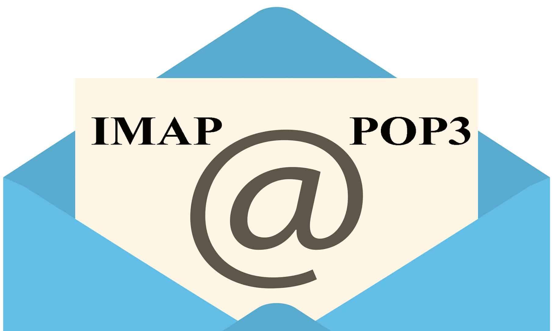 imap pop