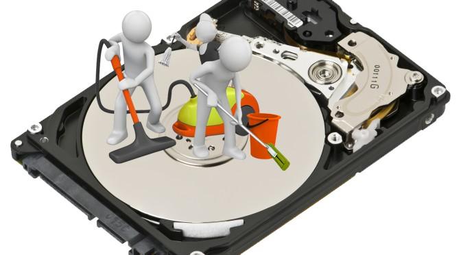 sabit disk temizle
