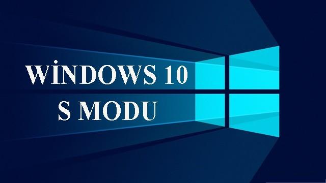 windows-10-s modu