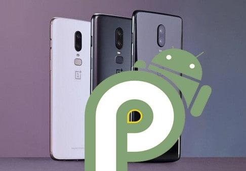 Android pie oneplus