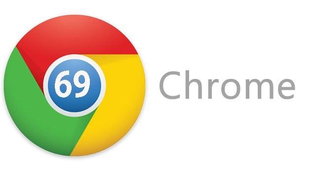 google-chrome 69