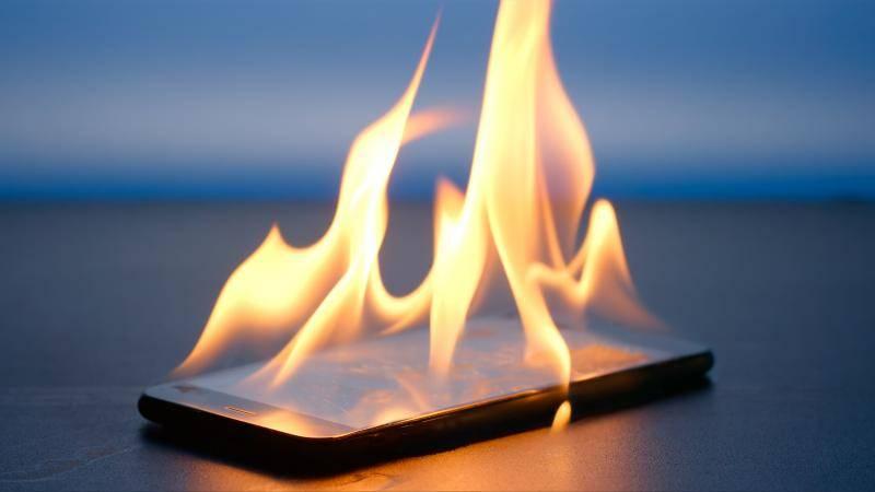 telefon ısınması