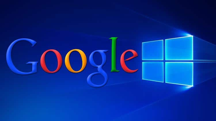 windows google arama