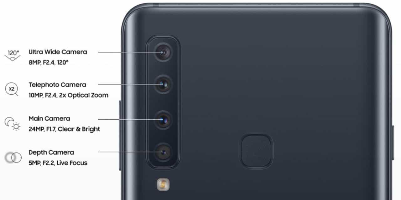 Galaxy-A9 4 kamera sistem