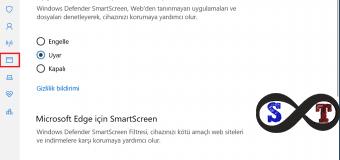 Windows 10'da SmartScreen Filtresi Nedir ve Nasıl Devre Dışı Bırakılır?