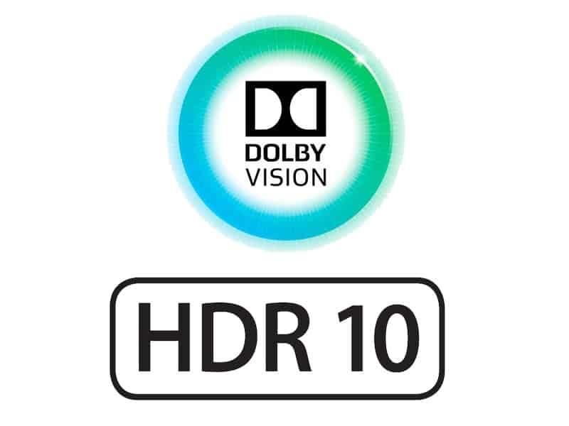 HDR 10 ve doby vision