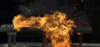 The Walking Dead Rick Grimes Köprü Patlama Sahnesi Nasıl Çekildi?