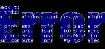 windows hata
