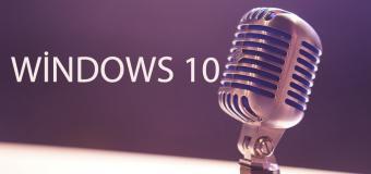 Windows 10'da Mikrofon Nasıl Devre Dışı Bırakılır?