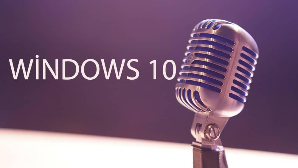 windows mikrofon