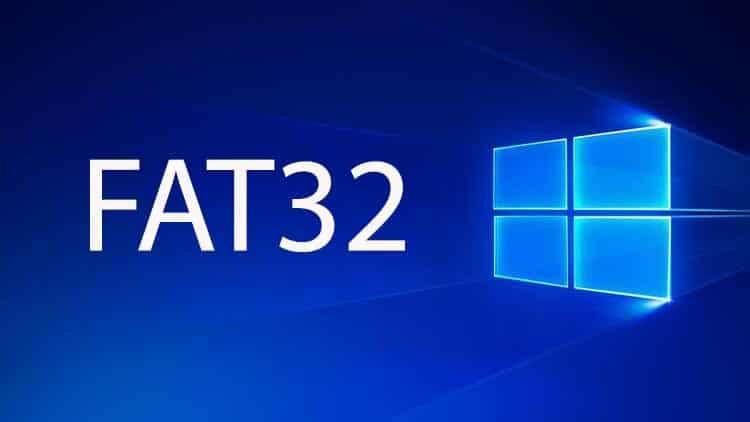 Windows 10 fat32