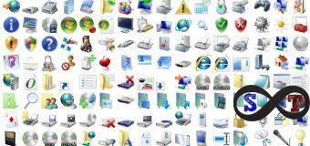 Windows'da Sistem, Klasör ve Kısayol Simgelerini Değiştirme