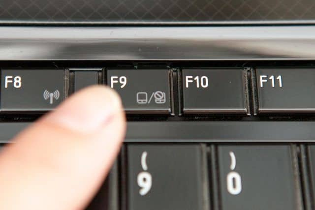touchpad devre dışı