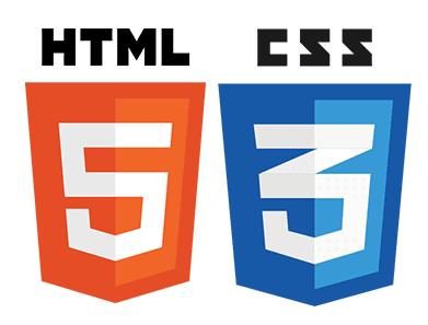 html css