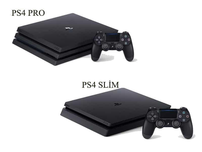 PS4 slim vs pro