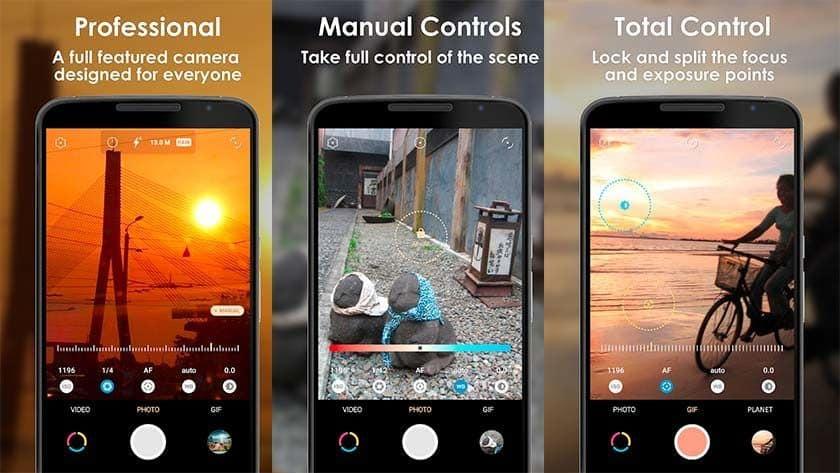 En Çok Kullanılan Kamera Uygulamaları