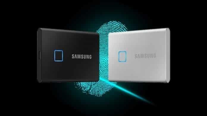 Samsung T7 Touch