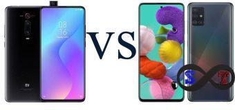 Xiaomi Mi 9T ve Samsung Galaxy A51 Karşılaştırma