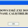 Windows 10'da Eski Oyun Exe Dosyası Nasıl Çalıştırılır?