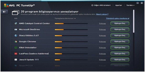 avg performans arttır