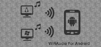 Bilgisayardan Android Telefona Kablosuz Ses Aktarıcı Program: Wifi Audio
