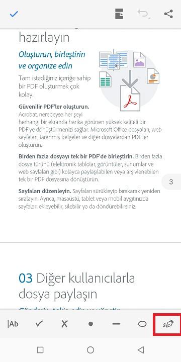 pdf imza kalem