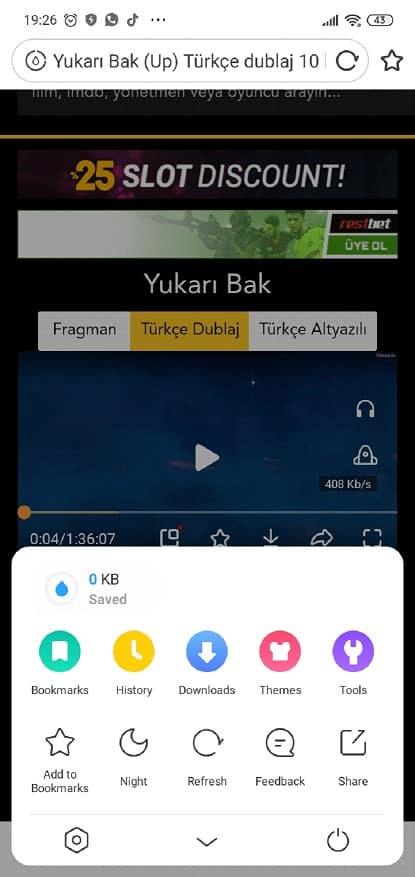 uc browser film indirme link