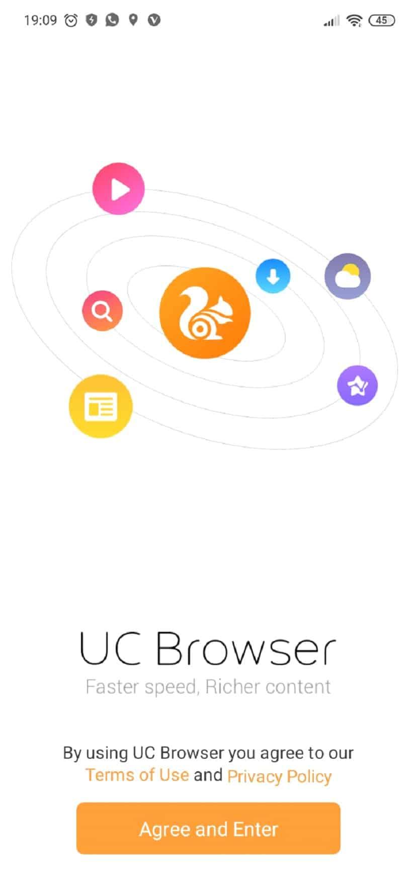 uc browser koşullar