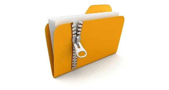 zip dosyası