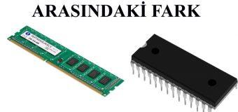 RAM ve ROM Bellek Arasındaki Fark Nedir?
