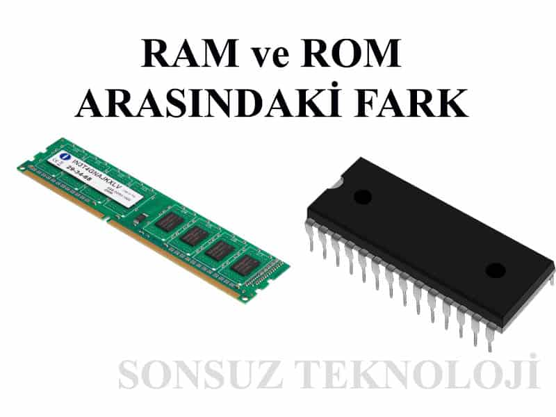 RAM ve ROM Bellek