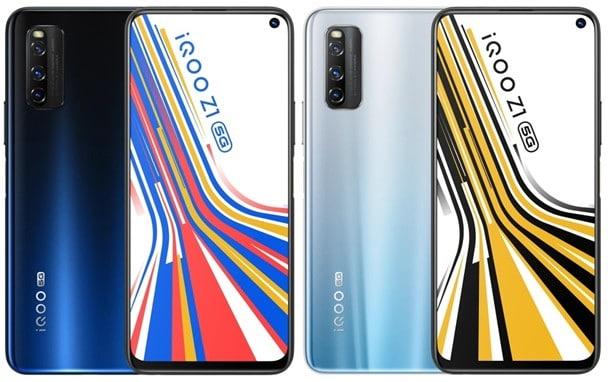 IQOO Z1 x 5G özellikleri