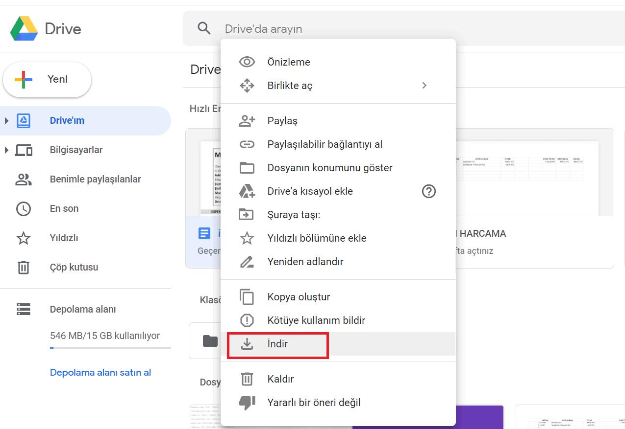 Microsoft word drive