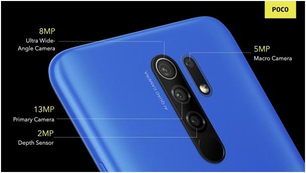 poco m2 kamera özellikleri